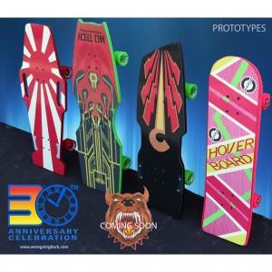 Five Boards Prototypes 4
